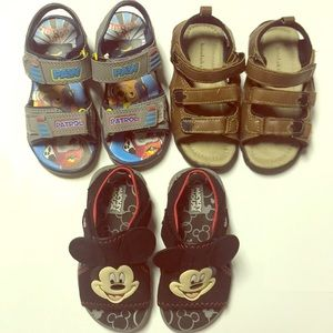 Other - Little boys sandals! Paw Patrol, Mickey Mouse!